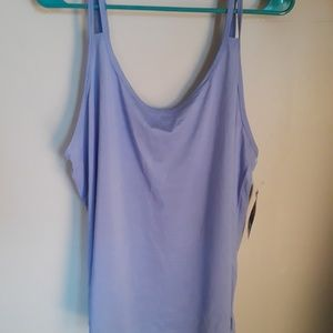 Periwinkle active tank